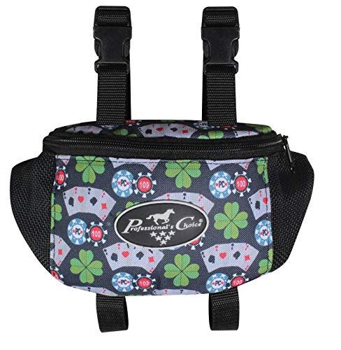 Professional's Choice Sports Medicine Products Saddle Pommel Bag Horse Riding Gear Holder Bearpaw Poker
