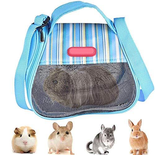 GZGZADMC - Bolsa de transporte para hámster, bolsa de transporte para animales pequeños