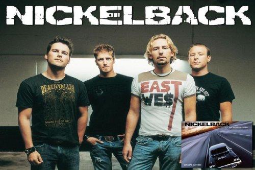 Nickelback Nice Silk Fabric Cloth Wall Poster Print (20x13inch)