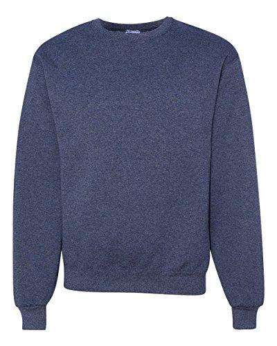 Jerzees Men's Fleece Sweatshirt, Vintage Heather Navy, XX-Large