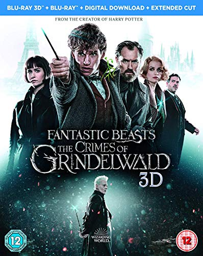 Fantastic Beasts: The Crimes Of Grindelwald (2 Blu-Ray) [Edizione: Regno Unito] [Italia] [Blu-ray]