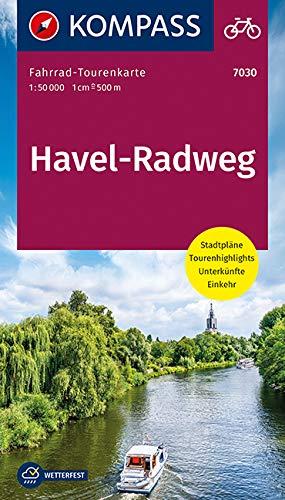 Fahrrad-Tourenkarte Havel-Radweg: Fahrrad-Tourenkarte. GPS-genau. 1:50000. (KOMPASS-Fahrrad-Tourenkarten, Band 7030)