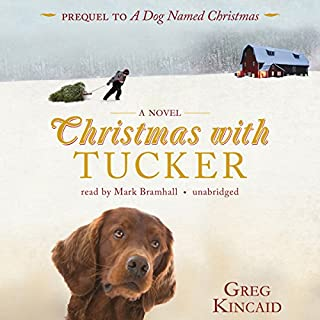 Christmas with Tucker audiobook cover art