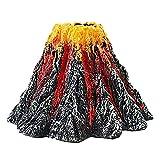 YHUS Ornamento de volcán de acuario, adorno de volcán de acuario, burbujas de aire, piedra de burbujas de aire, kit de adorno de volcán, burbuja de piedra de aire (tamaño L)