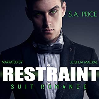 Restraint: Suit Romance audiobook cover art