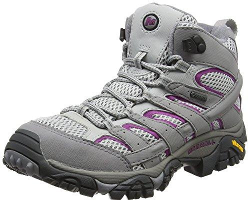 Merrell Women's Moab 2 Mid Gtx High Rise Hiking Boots, Grey (Frost Grey), 5 UK 38 EU