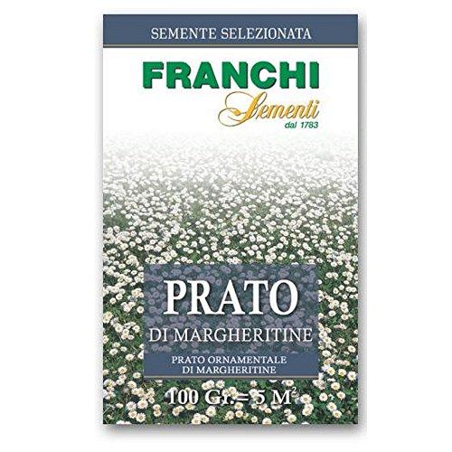 Sementi per prato di Margherite Franchi Confezione da 100 grammi