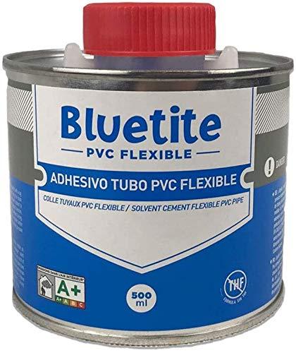 well2wellness® PVC - lijm bluite 500 ml met speciale kwast