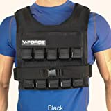 V-Force 100 Lb Weight Vest - Black - Made in USA - Fully Adjustable