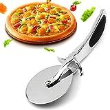 JmeGe - Rotella tagliapizza da cucina in acciaio INOX con impugnatura antiscivolo...