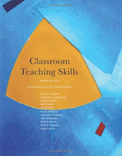 Classroom Teaching Skills (What's New in Education)