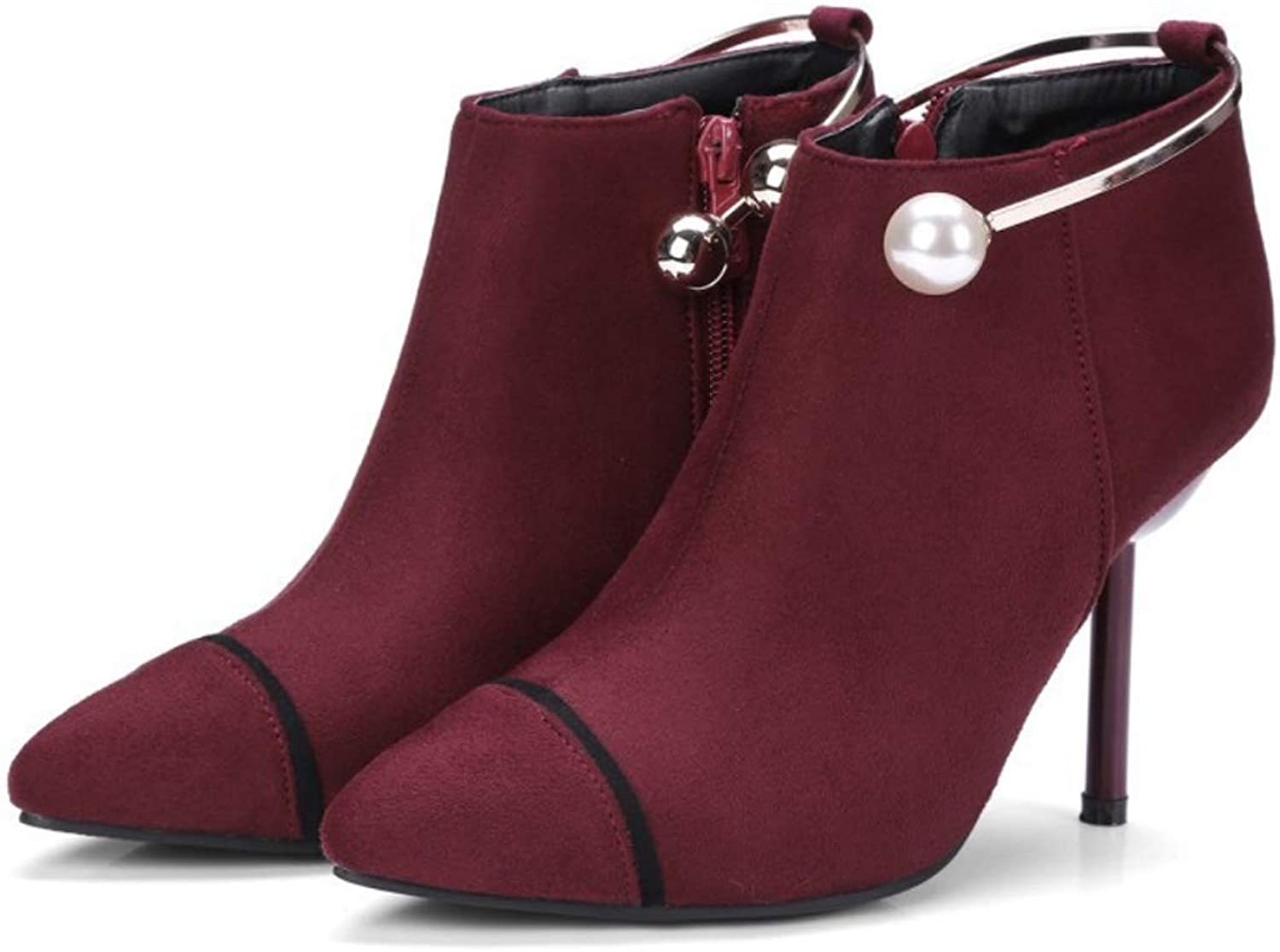 Women's shoes Ankle Boots Fall & Winter Comfort Fashion Stiletto Heel Booties