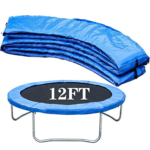 ZWFPJQD Replacement Trampoline Surround Pad Foam Safety Guard Spring Cover Padding Pads Trampoline Spring Cover Pad Replacement Surround Spring Cover Padding Safety Guard,12FT