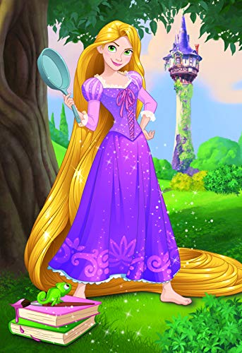 Dino Toys (DINR7)-Rompecabezas Brave Rapunzel 24 Piezas, Multicolor Toys sro Dino_351578