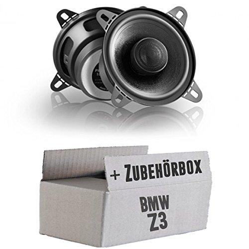 Lautsprecher Boxen Eton PRX110.2-10cm Koax-System Auto Einbauzubehör - Einbauset für BMW Z3 - JUST SOUND best choice for caraudio