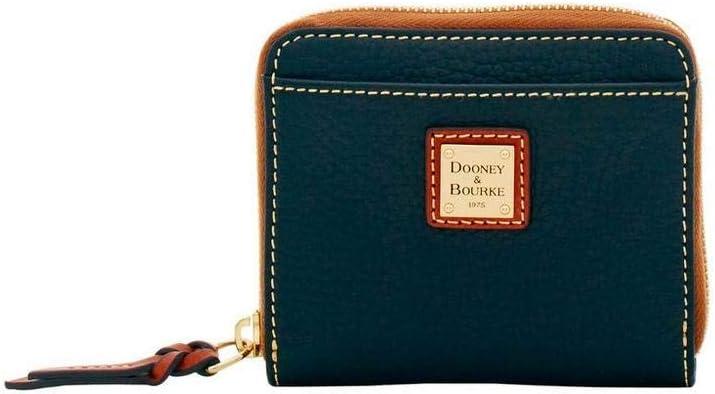 Dooney & Bourke Small Pebble Zip Around Wallet Black