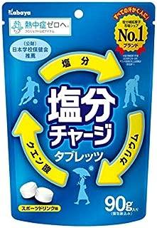 カバヤ食品 塩分チャージタブレッツ 90g×6袋