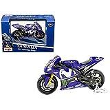 Maisto-Moto Yamaha en Escala 1/18 del piloto Valentino Rossi #46 34594 (31594vr)