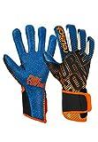 Reusch Pure Contact 3 G3 Fusion - Guantes Unisex para Adulto, Negro/Naranja/Azul, FR: M (Talla del Fabricante: 9)