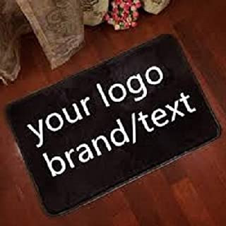 BANNER BUZZ MAKE IT VISIBLE Custom Entrance Home Office Indoor Floor Logo mats Non Slip Floor Mats (2.25' X 1.5')