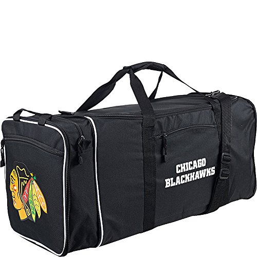NHL Chicago Blackhawks Duffel, 71,1 x 27,9 x 30,5 cm