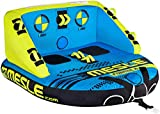 MESLE Tube Formula 2, towable couch, fun tube, blue-lime, multi rider for two persons, inflatable, towable,...