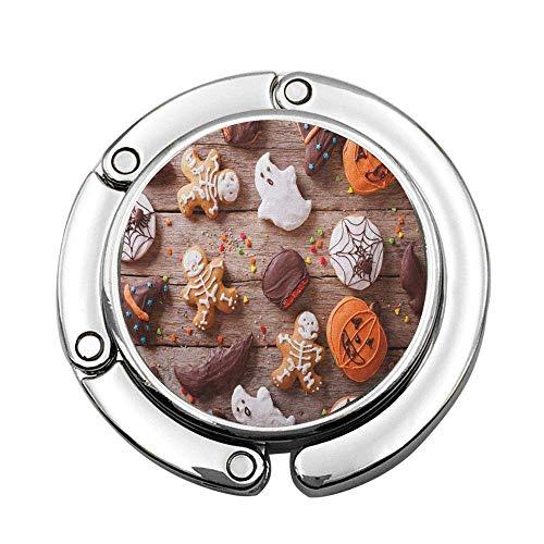 Dulces Cubiertos de Chocolate bañados en glaseado Tema de Halloween Fantasmas y Calabazas Soporte para suspensión Plegable Gancho de me