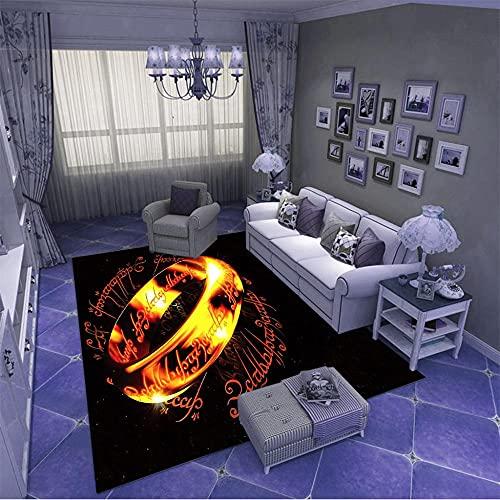 Tapis Salon Style Moderne,Moelleux Et Super Poils Ras Tapis DéCoration D