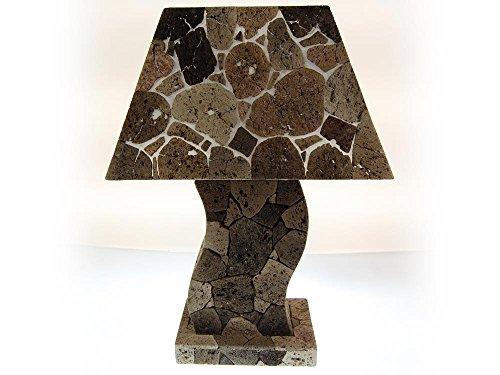 SEESTERN Tuff Lava steen tafellamp bijzetting lamp variabel 50-60 cm hoog /1622