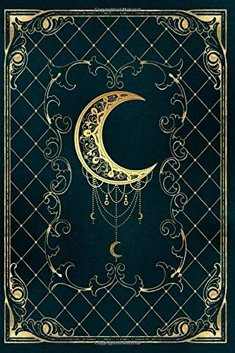 Grimoire: Lined Notebook - 120 pages - Old Magic Vintage Book