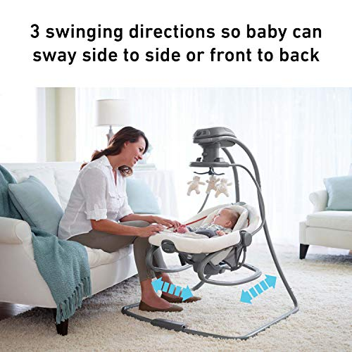 518j6jGZmKL The Best Baby Swing with Lights and Music in 2021