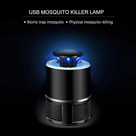 WIDEWINGS Electronic Led Mosquito Killer Lamps USB Powered UV LED Light Super Trap Mosquito Killer Machine for Home Insect Killer Mosquito Killer Eco-Friendly Electric Mosquito Trap Device (1)