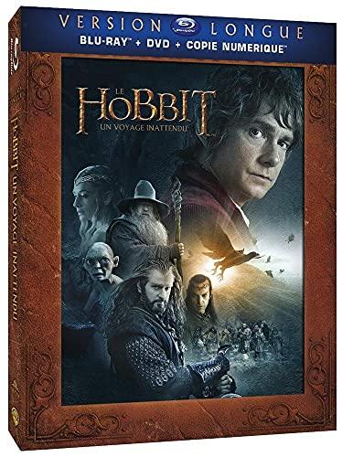 Le Hobbit : Un Voyage inattendu [Version Longue-Blu-Ray + DVD + Copie Digitale]