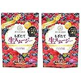 【公式】酵水素328選 もぎたて生スムージー 2袋セット (ミックスベリー味)