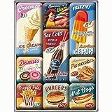 Nostalgic Art Magnet-Set 9-teilig, American Diner, Kleine