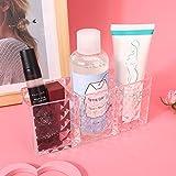 Escaparate de brillo de labios Organizador de lápices Soporte de exhibición Lápiz labial Soporte de maquillaje Gran capacidad para baño para belleza