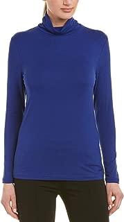 Anne Klein Women's Shirred Neck Turtleneck Top