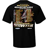 Checkered Flag Sports 2020 NASCAR Cup Series Driver Schedule T-Shirt-Clint Bowyer #14-Black-Large
