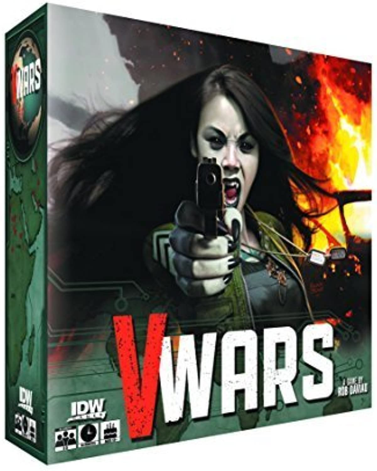 VWars  Blood & Fire Board Game by IDW Games