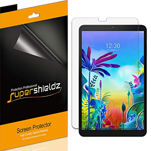 Supershieldz (3 Pack) for LG G Pad 5 10.1 FHD Screen Protector, High Definition Clear Shield (PET)