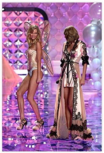 Lienzo De Impresión 60*90cm Sin Marco Taylor Swift Karlie Kloss Victoria's Secret Sexy Hot Girl Arte Vintage Decoración de dormitorio Deportes Paisaje Oficina Decoración de habitación Regalo