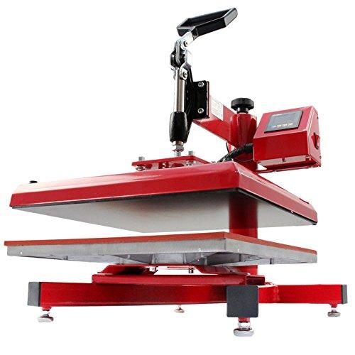 PixMax 38cm x 38cm Swing-Hitzepressmaschine - 8