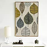 ganlanshu Pintura sin Marco Geométrico Decorativo Imagen de la Pared Arte Lienzo póster Sala de Estar decoración del hogar ZGQ4293 50X75cm