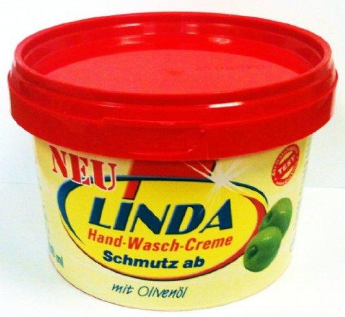 Linda Waschmittel GmbH & Co.KG Linda Schmutz ab Hand washing cream mit Olivenöl 500 ml
