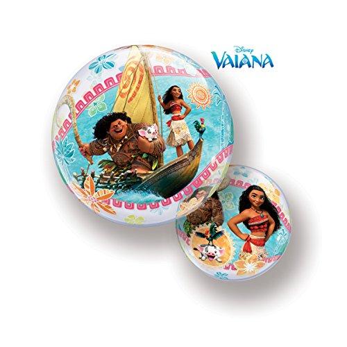 Folat 49078Q Disney Moana Burbujas Globo - 46 cm, multicolor, 22 pulgadas