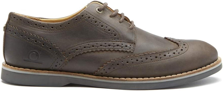 Chatham Premium Leather Brogues - Kos - Dark Brown