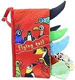 TXXM Libros tranquilas, se Puede Aprender de los sentidos, en 3D Libros de Diseño for la comunicación Entre Padres e Hijos, Libros for Ocupado Actividades Tela, y Navidad for los niños (Color : 5)