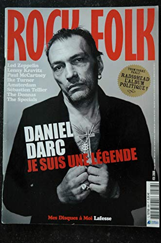 ROCK & FOLK 486 Daniel DARC Led ZEPPELIN Lenny KRAVITZ McCARTNEY Ike TURNER AMSTERDAM