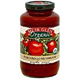 Muir Glen, Organic Portabello Mushroom Pasta Sauce, Size - 25.5 FZ, Pack of 3...