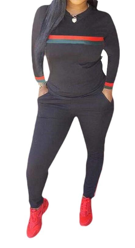 クラウン祖母許される女性2ピース衣装プルオーバースウェットスーツトップとロングパンツジョガーセットトラックスーツ